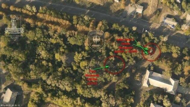 """""""Дніпро-1"""" розкрив танкові та артилерійські позиції терористів: опубліковані фото"""