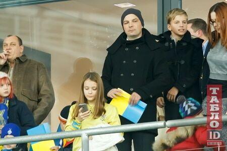 """Матч Украина - Испания собрал на """"Олимпийском"""" ряд VIP-гостей"""