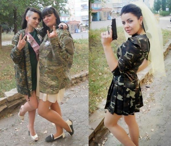 """""""Це """"ДНР"""", крихітко!"""" У мережі показали супутниць терористів: від """"Пацюка"""" до """"Ляльки"""""""