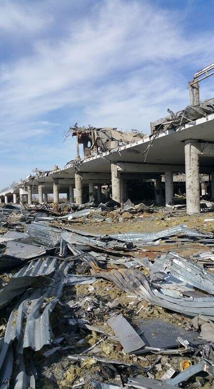 Біля донецького аеропорту знайшли останки бійця АТО: опубліковані фото