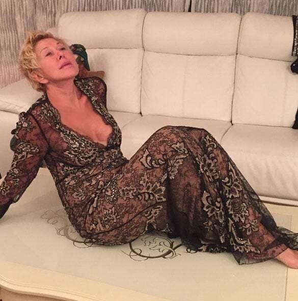 61-летняя Любовь Успенская поразила поклонников откровенным фото