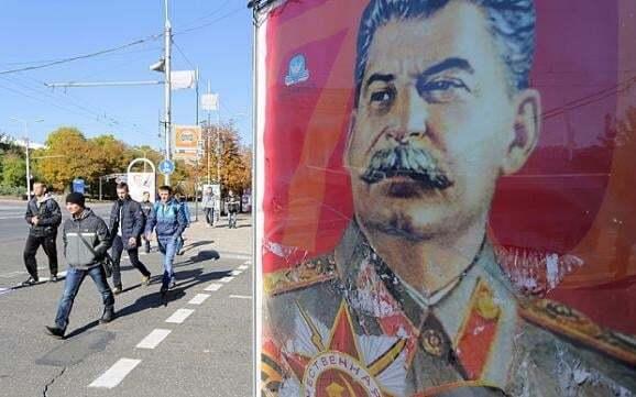 Сталін - це добре! Донецьк заполонили портрети і цитати диктатора: фотофакт