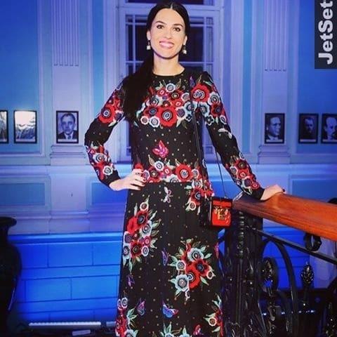 Ефросинина пришла к Собчак в новом платье за 4 тысячи евро