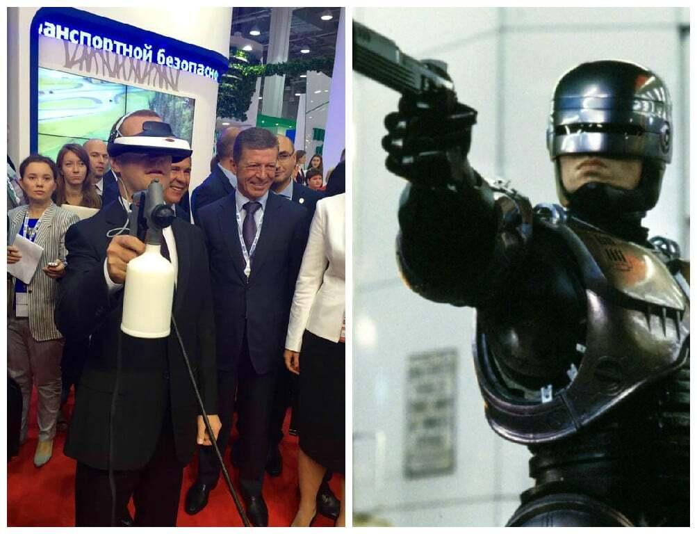 """Медведев похвастался """"образом"""" Робокопа"""