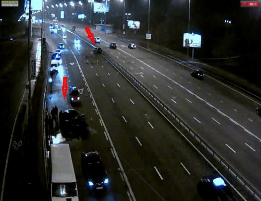 Збіг? На місці ранкового ДТП у Києві ввечері розбилися два авто