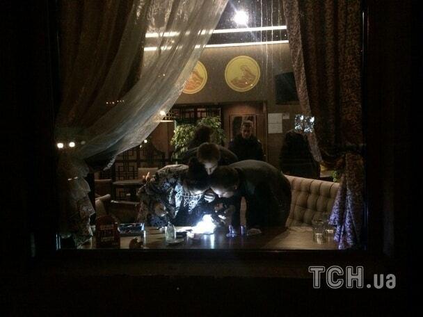 Стрілянина в центрі Києва: у ресторані поранені відвідувачі