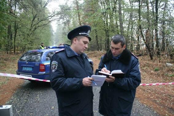 Пограбування інкасаторів на Чернігівщині: опубліковані перші фото