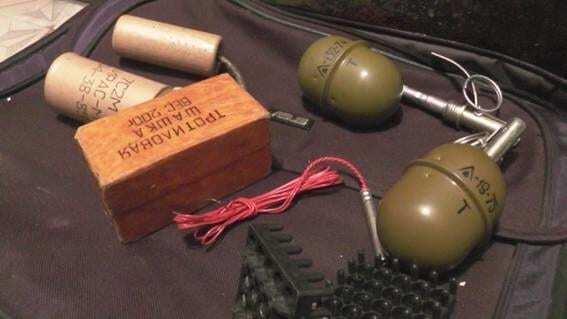 У Києві в квартирі наркодилера виявили гранати