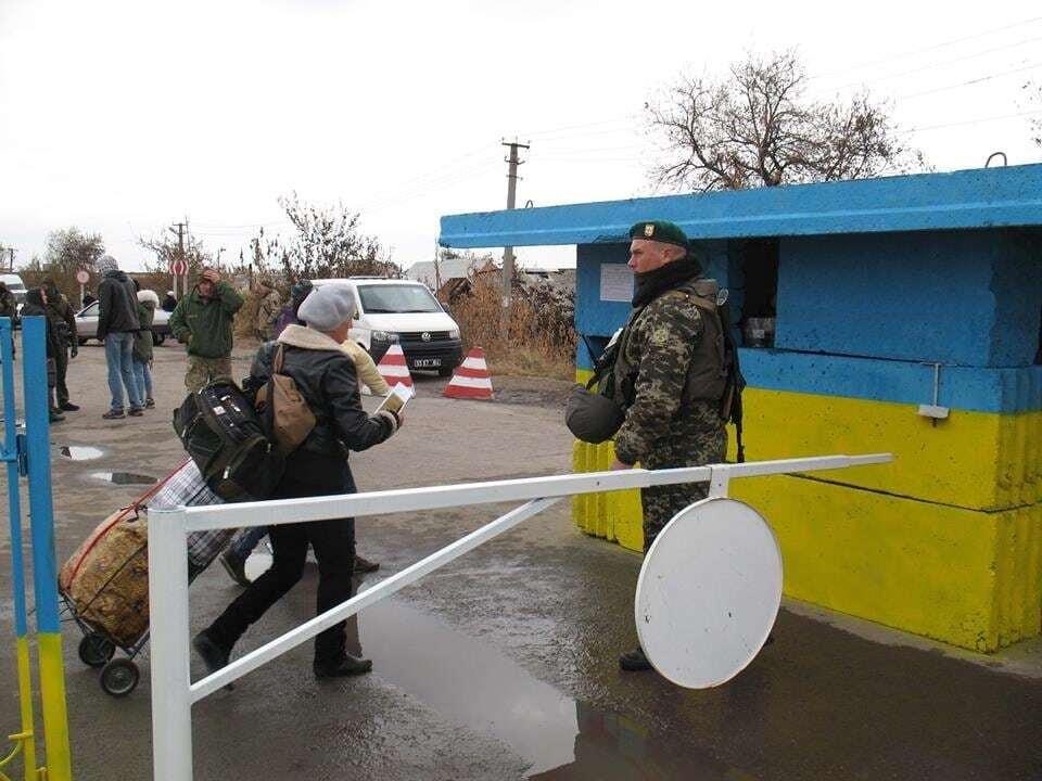 Обнародованы фото первого на Луганщине пешеходного пункта пропуска