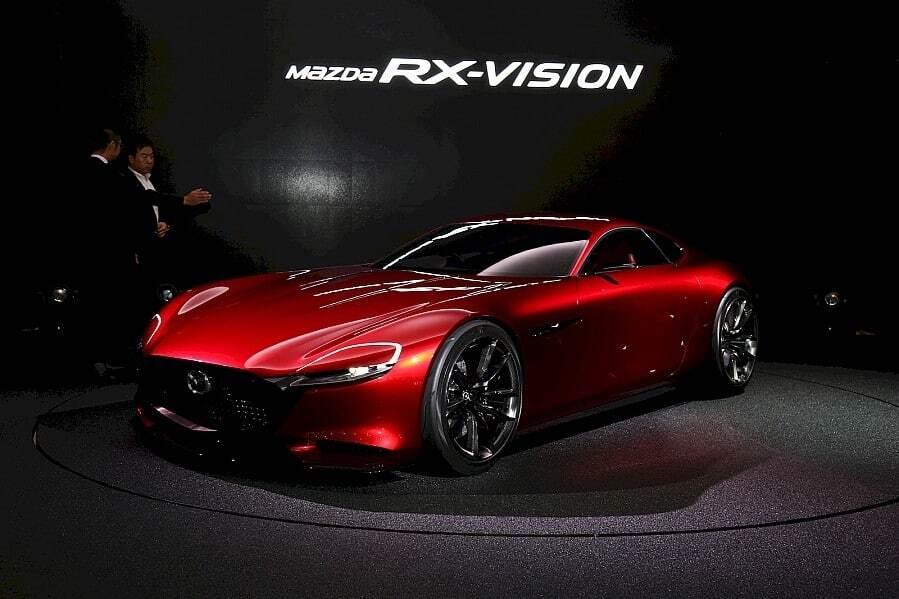 Токийский автосалон: Mazda вернулась к роторным спорткарам