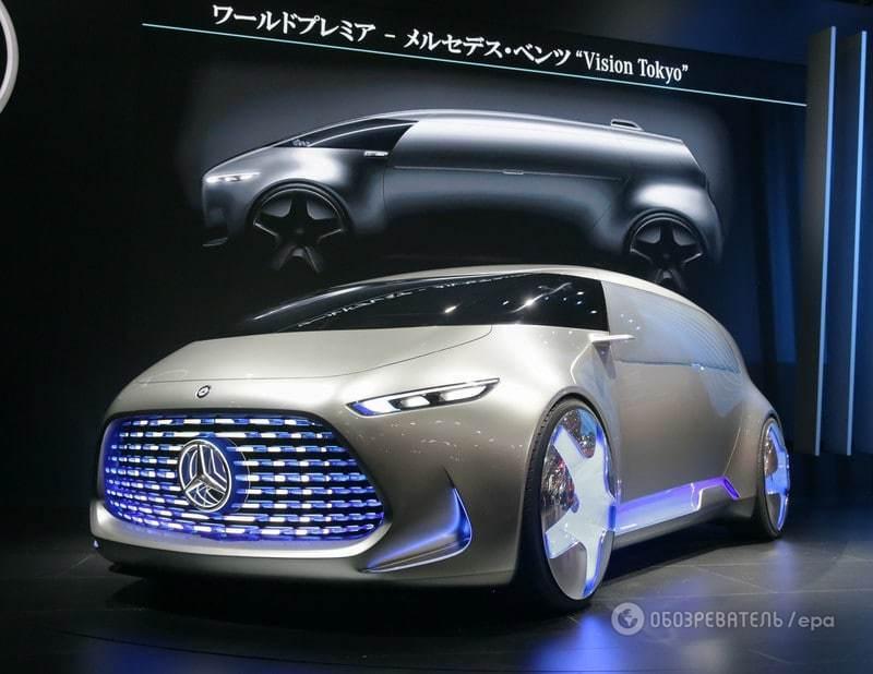 Токийский автосалон: Mercedes-Benz показал свой ответ японцам