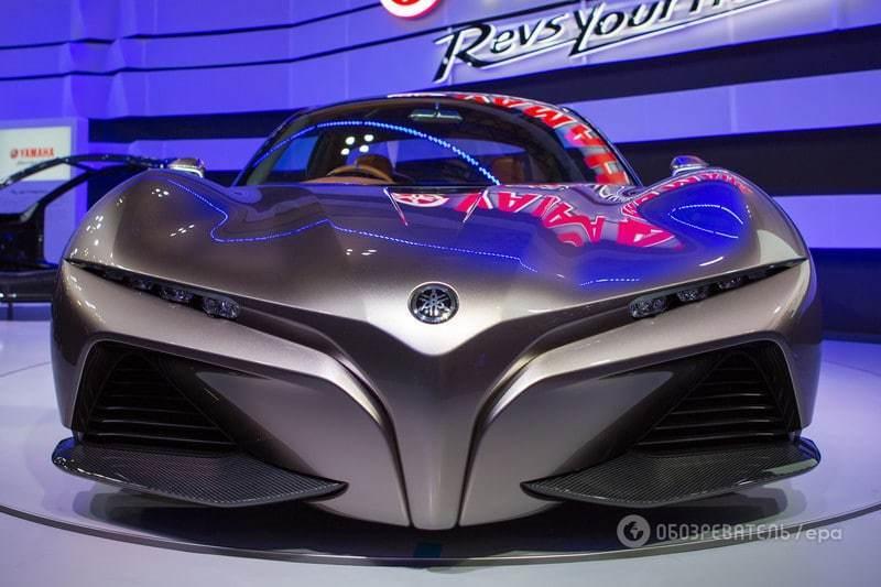 Токийский автосалон: раскрыта тайна первого автомобиля компании Yamaha