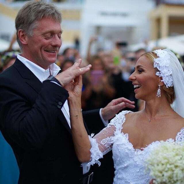 Навка рассказала, за что она благодарна экс-супруге Пескова