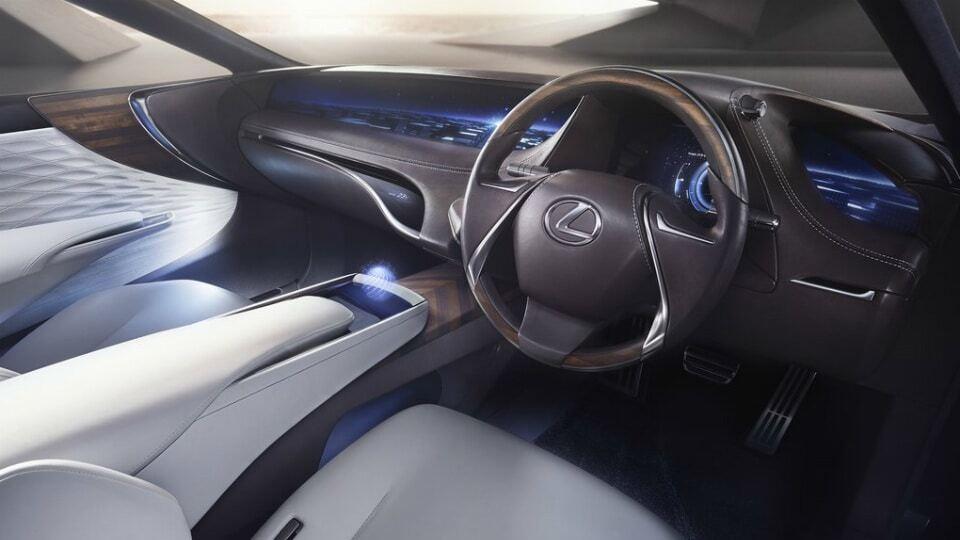 Токійський автосалон: Lexus показав майбутній флагманський седан