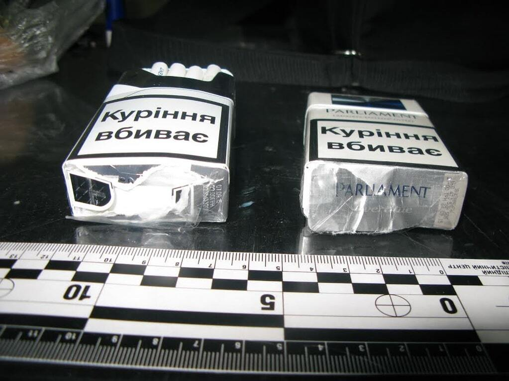 В киевское СИЗО пытались пронести наркотики в пачках сигарет
