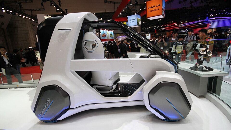 Токийский автосалон: Toyota сделала свой вариант трансформера
