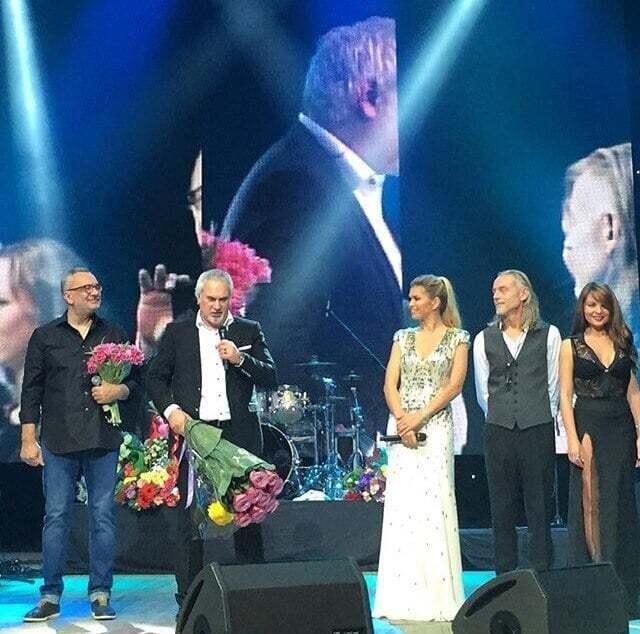 Влюбленные Брежнева и Меладзе выступили на одной сцене в Киеве