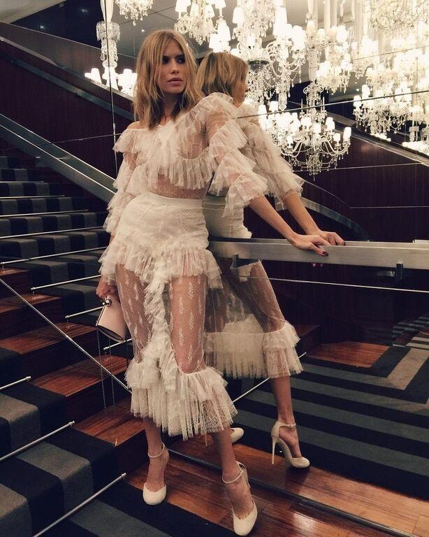 Жена российского миллиардера зажгла с Рианной на Неделе моды в Париже