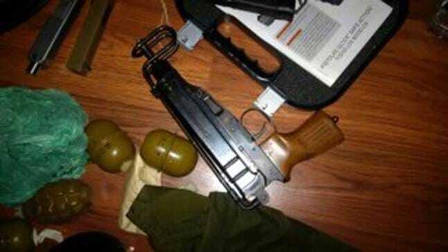 На Київщині СБУ вилучила велику партію зброї із зони АТО