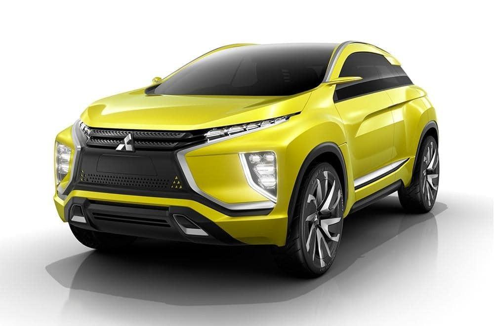 Mitsubishi покажет электрический кроссовер будущего