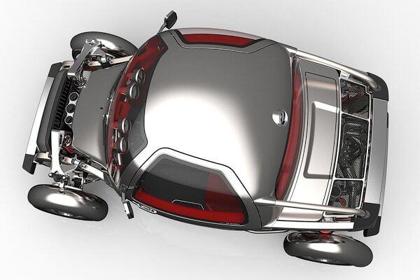 Toyota покажет кроссовер в стиле стимпанк: фото экстраординарной модели