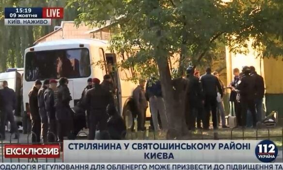 Стрілянина біля супермаркету в Києві: спецназ затримав рекетирів