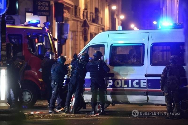 Стрельба и взрывы в Париже: более сотни погибших. Фото, видео и подробности