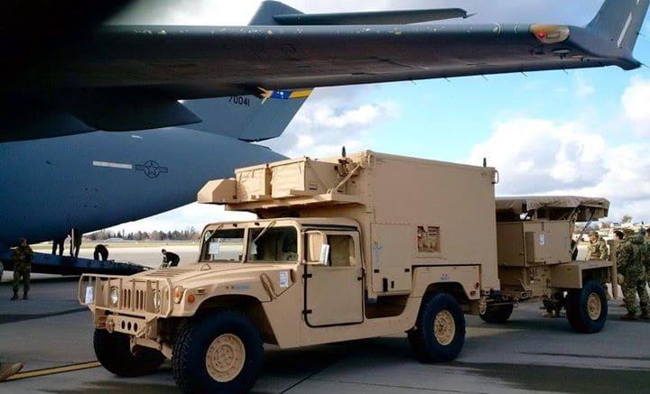 В Україну прибула американська військова допомога