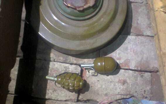 Міни, гранати і тротилові шашки: на Донеччині знайшли нову схованку