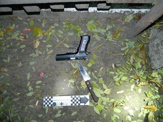 У центрі Києва п'яний чоловік відкрив стрілянину