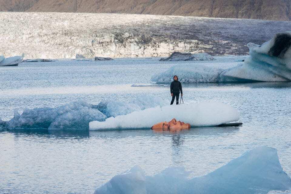 """Во льдах Исландии навеки уснула """"красивая женщина"""""""