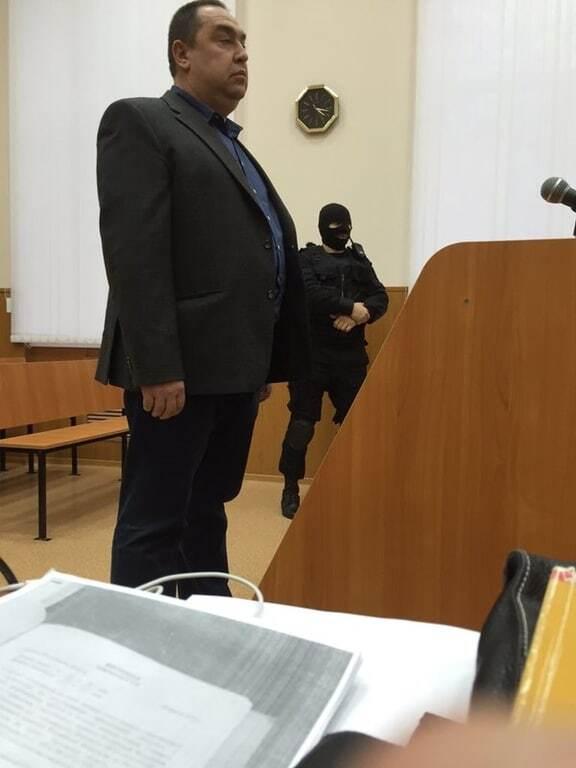 """Плотницький прибув на суд над Савченко, адвокатам заборонили переказувати показання ватажка """"ЛНР"""""""