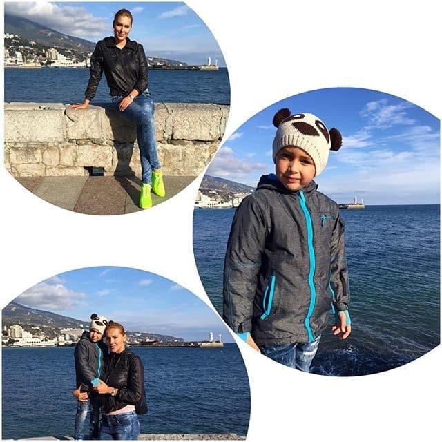 Клочкова, яка схудла, відпочила з сином в осінньому Криму: опубліковані фото