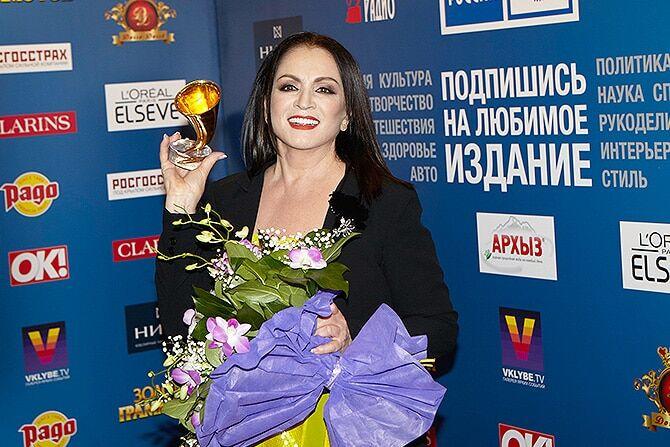 Ротару в Москве сбежала от журналистов