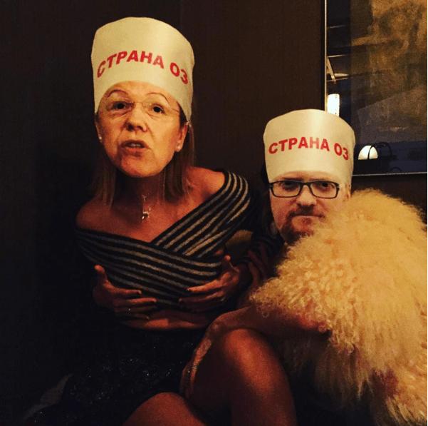 """Собчак на премьере фильма зажимала грудь """"Мизулиной"""""""