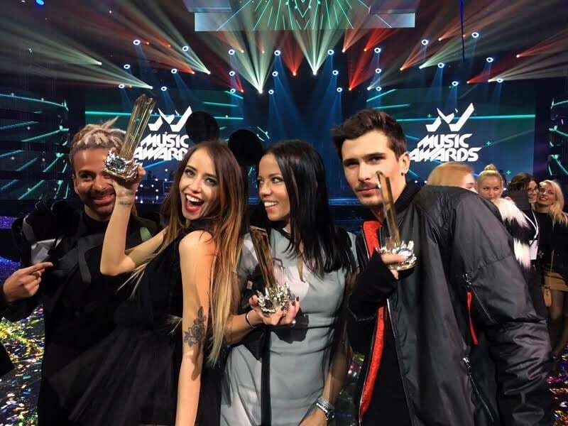 "Продюсерский центр Потапа ""урвал"" рекордное количество наград на M1 Music Awards"