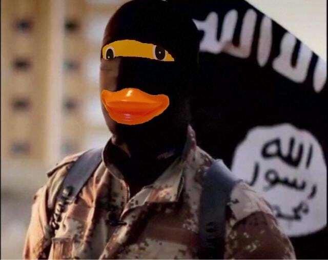 """""""Утиное государство"""": в сети высмеяли террористов ИГИЛ"""
