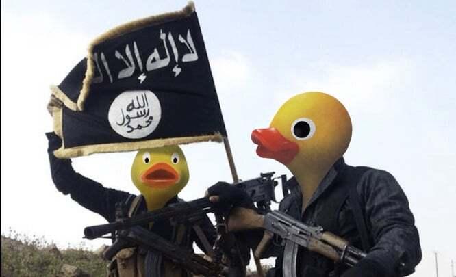 """""""Качина держава"""": в мережі висміяли терористів ІДІЛ"""