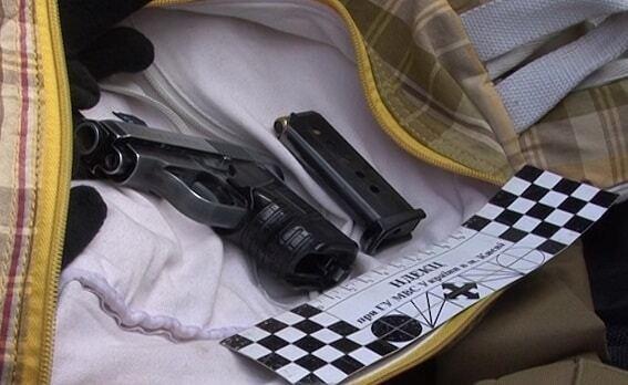 У Києві міліція затримала авто зі зброєю: опубліковані фото і відео
