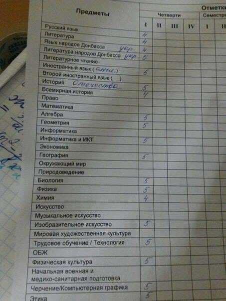"""В школах """"ДНР"""" выдумали """"язык народов Донбасса"""""""