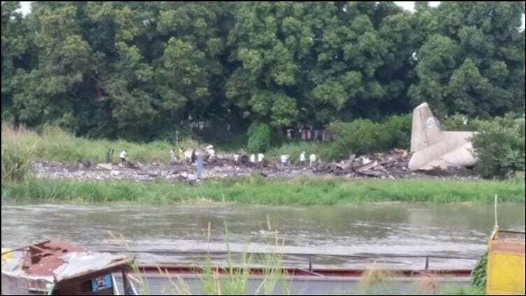 Авиакатастрофа в Южном Судане: опубликованы фото с места крушения Ан-12