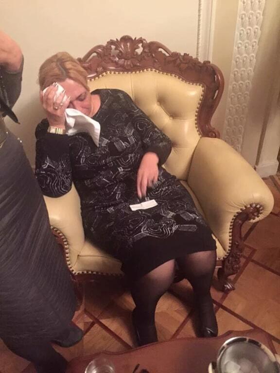 Обнародовано фото Кужель после драки с Тетеруком