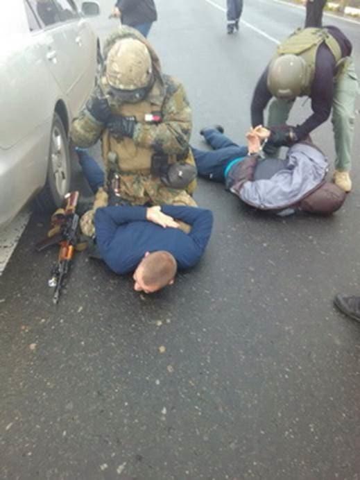 В Одеській області запобігли пограбуванню інкасаторів