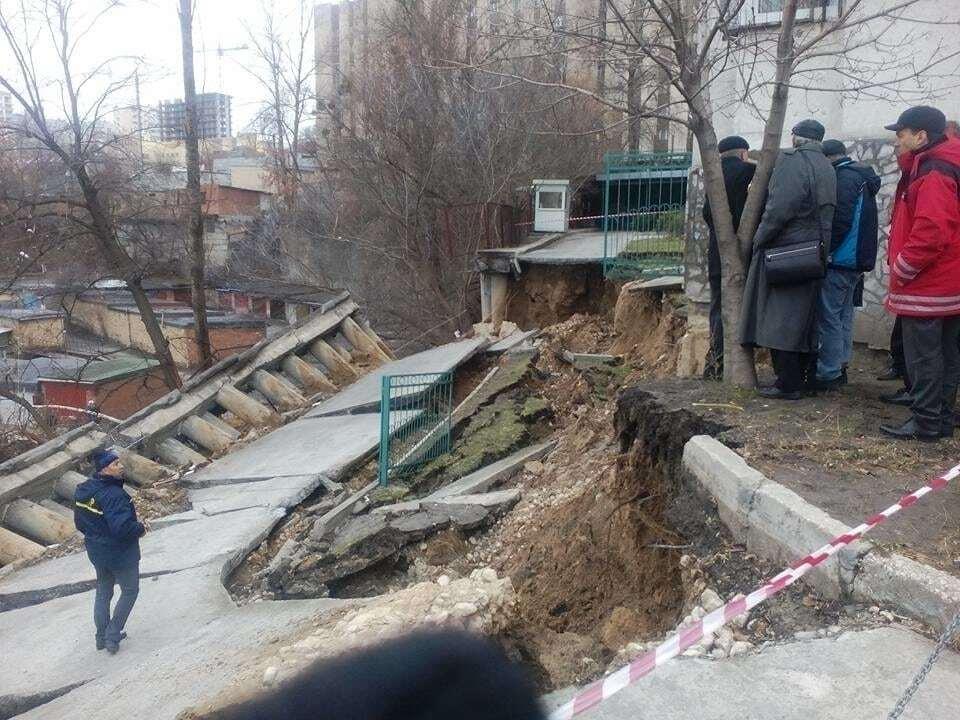 У Києві стався масштабний зсув: всі подробиці