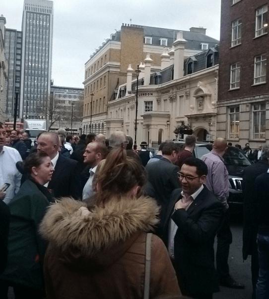 """У Лондоні """"замінували"""" штаб-квартиру BBC"""