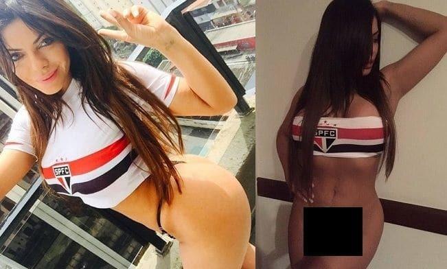 Бразилійка з найкрасивішими сідницями роздяглася на честь перемоги улюбленого клубу