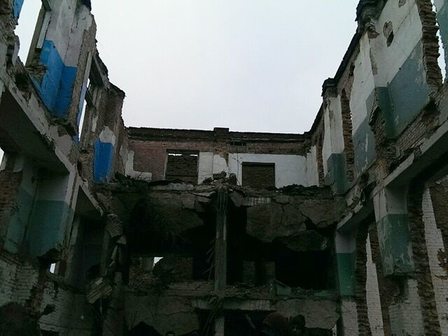 На Николаевщине рухнул завод, похоронив людей