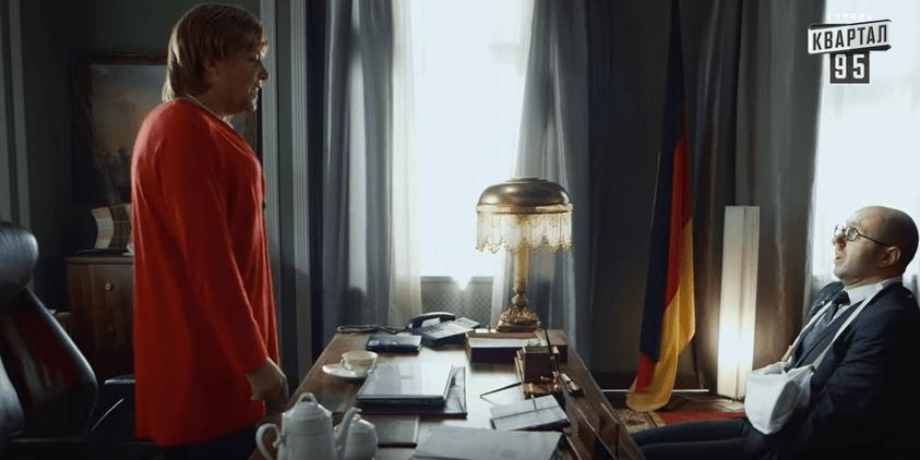 "Мережу запалила забійна пародія на те, ""як Яценюк у Меркель грошей просив"""