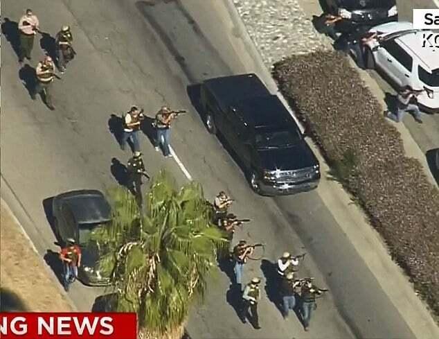 Стрельба в Калифорнии: все подробности, фото и видео