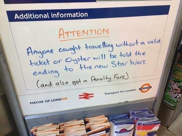 """У Лондоні придумали оригінальне """"покарання"""" для безбілетників в метро"""